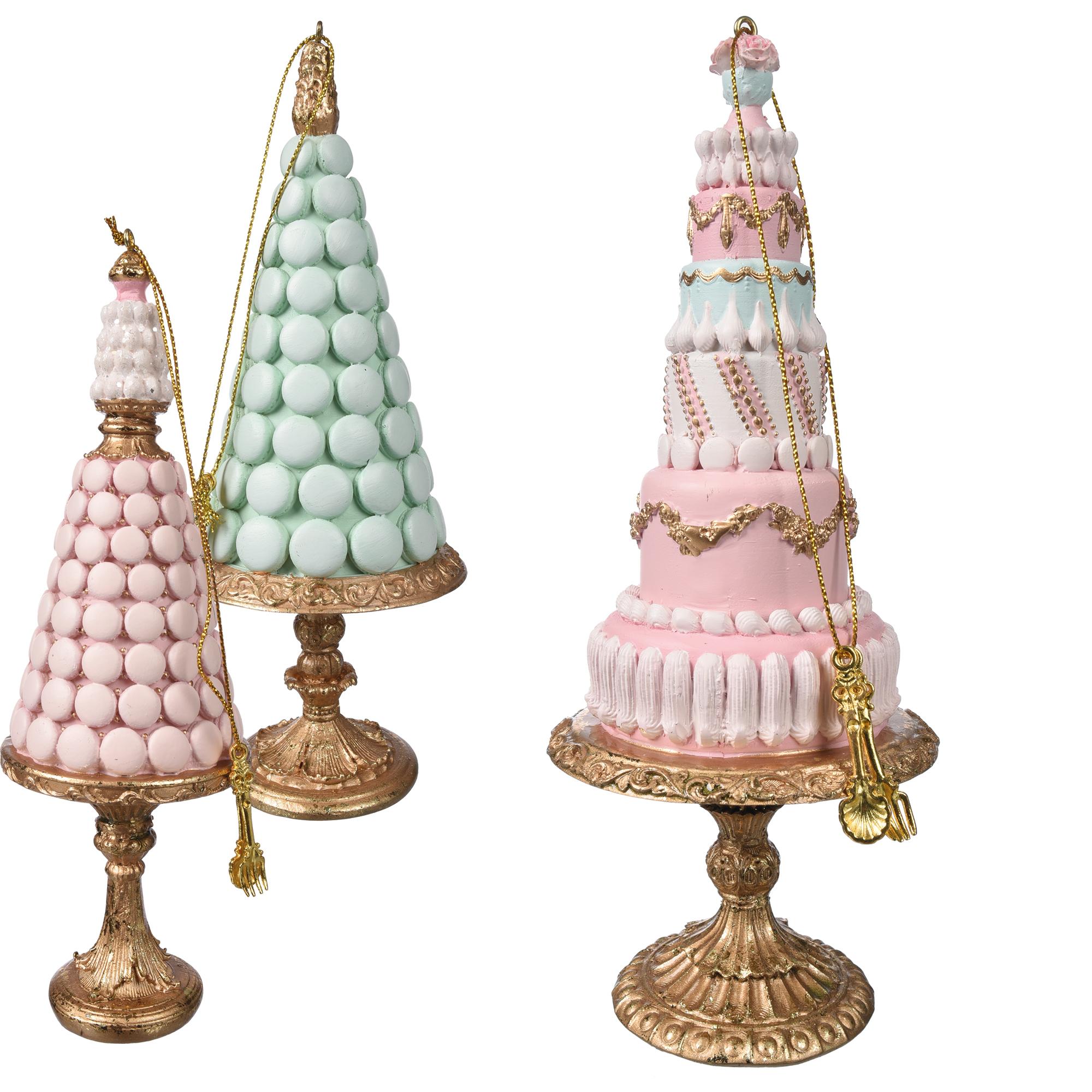 Torta Macaron/Princess Su Alzatina 3 Ass - Tiffany Sweet Home