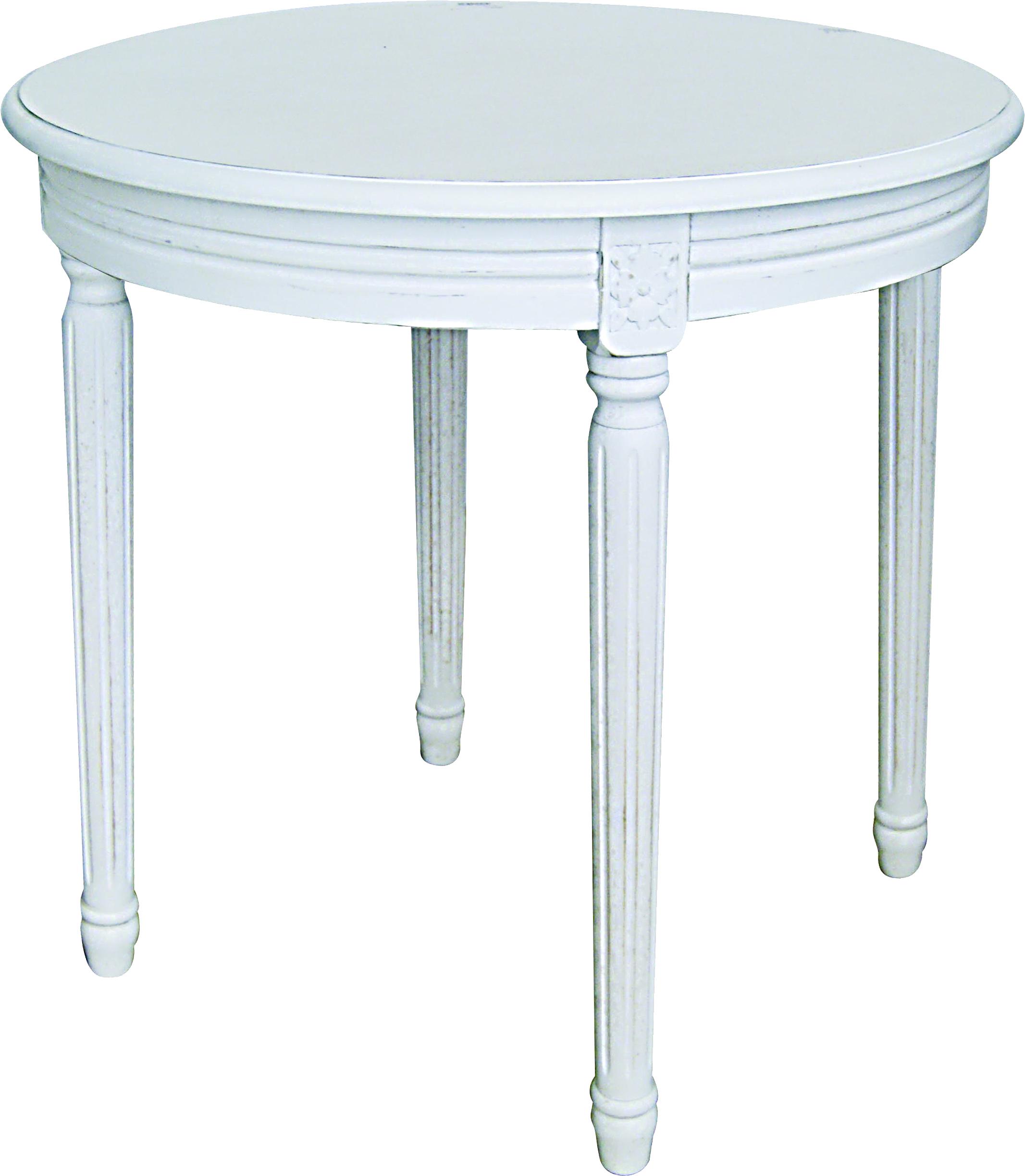 Tavolino Tondo Da Salotto 60X60Cm